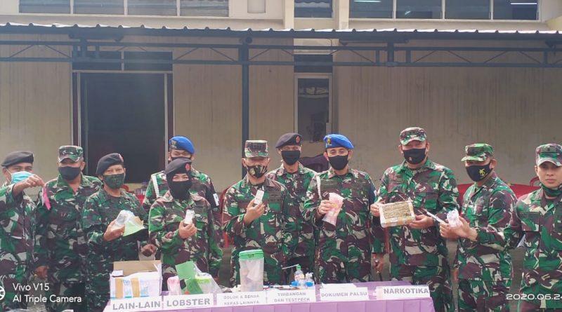 Kegiatan Pemusnahan Barang bukti di Oditurat Militer I-05 Palembang